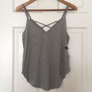 NWT Abercrombie & Fitch Crossback Cami Small